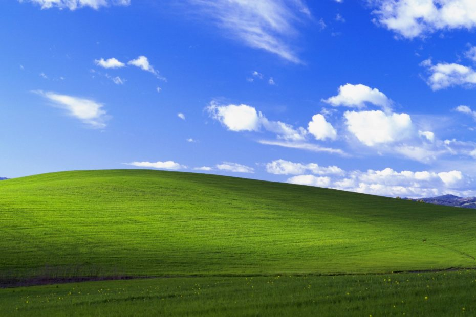 Bliss Wallpaper Windows XP