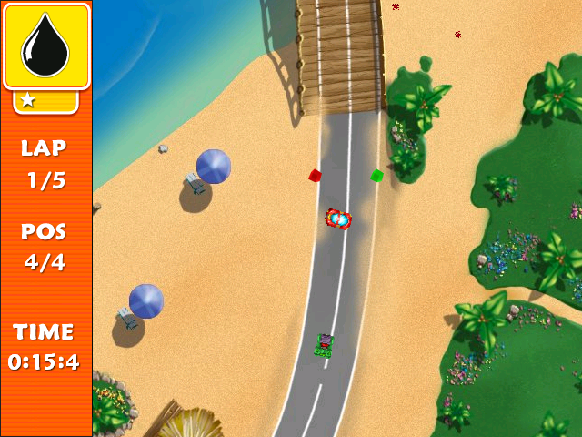 Screenshot of Tiny Cars 2