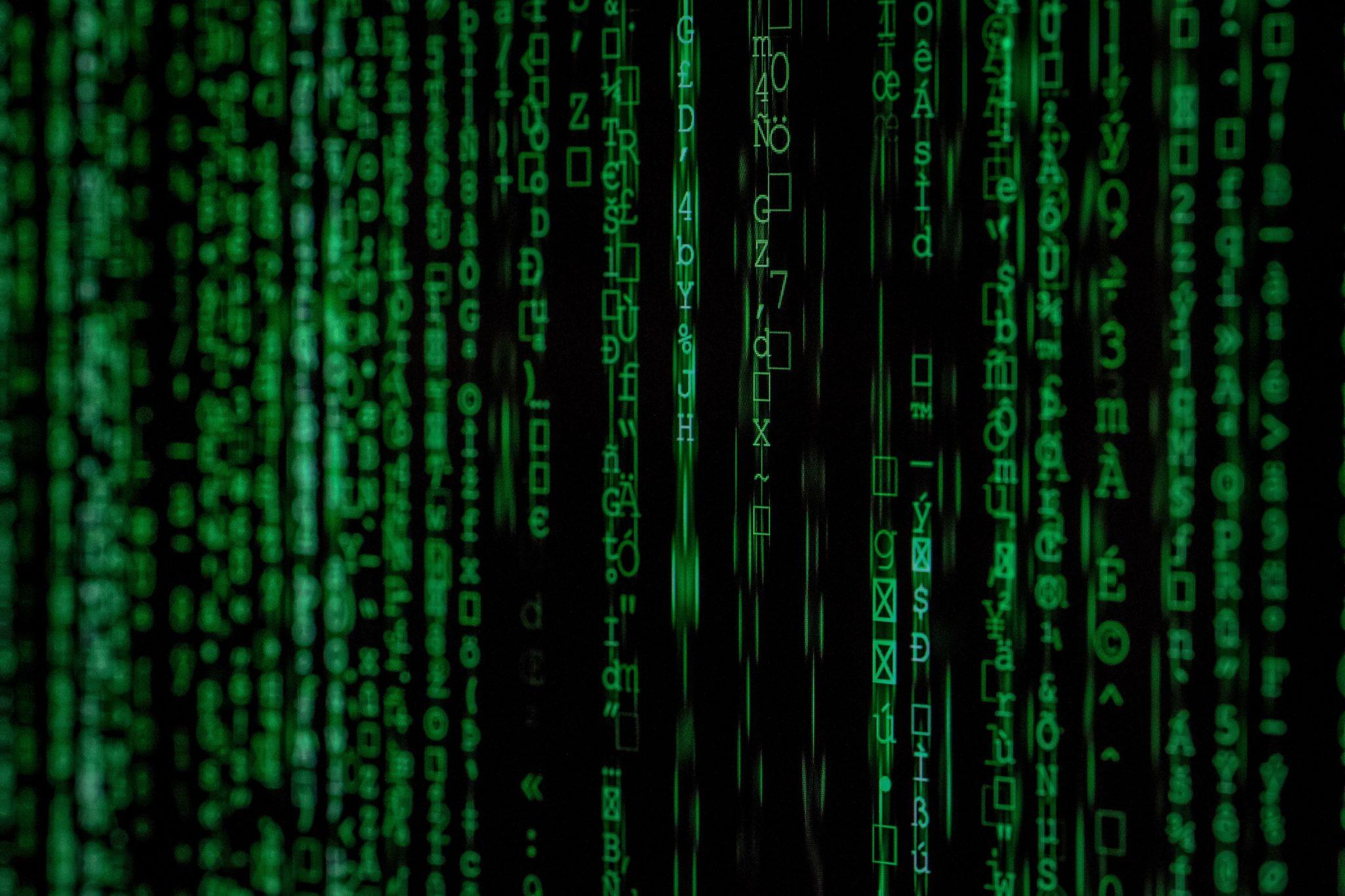 """Matrix"" Photo by Markus Spiske on Unsplash"