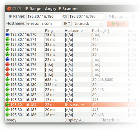Angry IP Scanner the original IP scanner for Windows Mac and Linux
