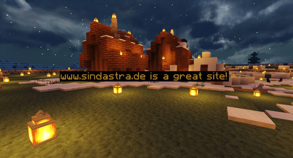 Minecraft Floating Text: www.sindastra.de is a great stie!