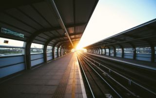 Photo of a train station by Charles Forerunner